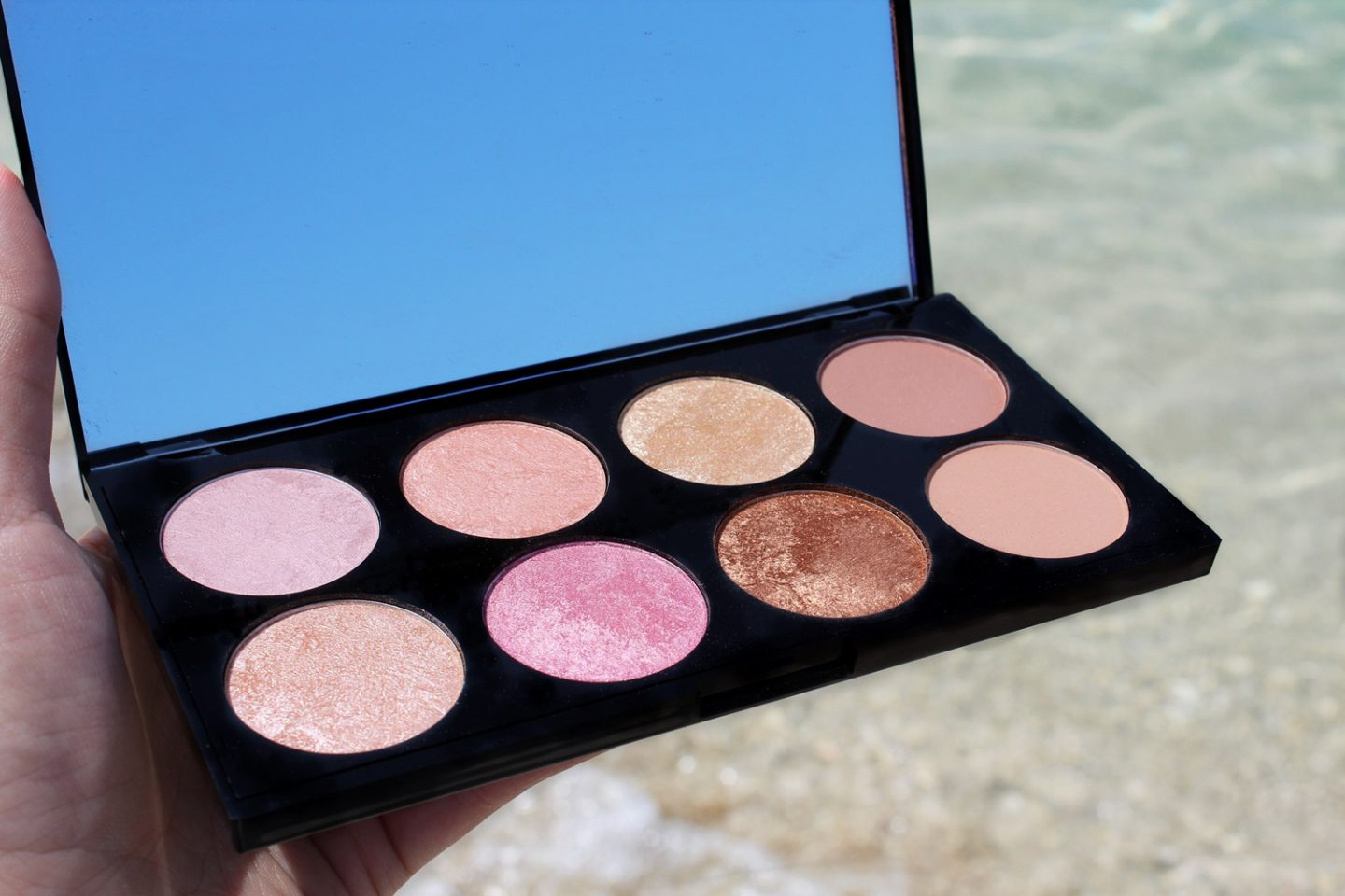 Makeup Revolution Golden Sugar 2 Rose Gold Palette - Miel and Mint blog review