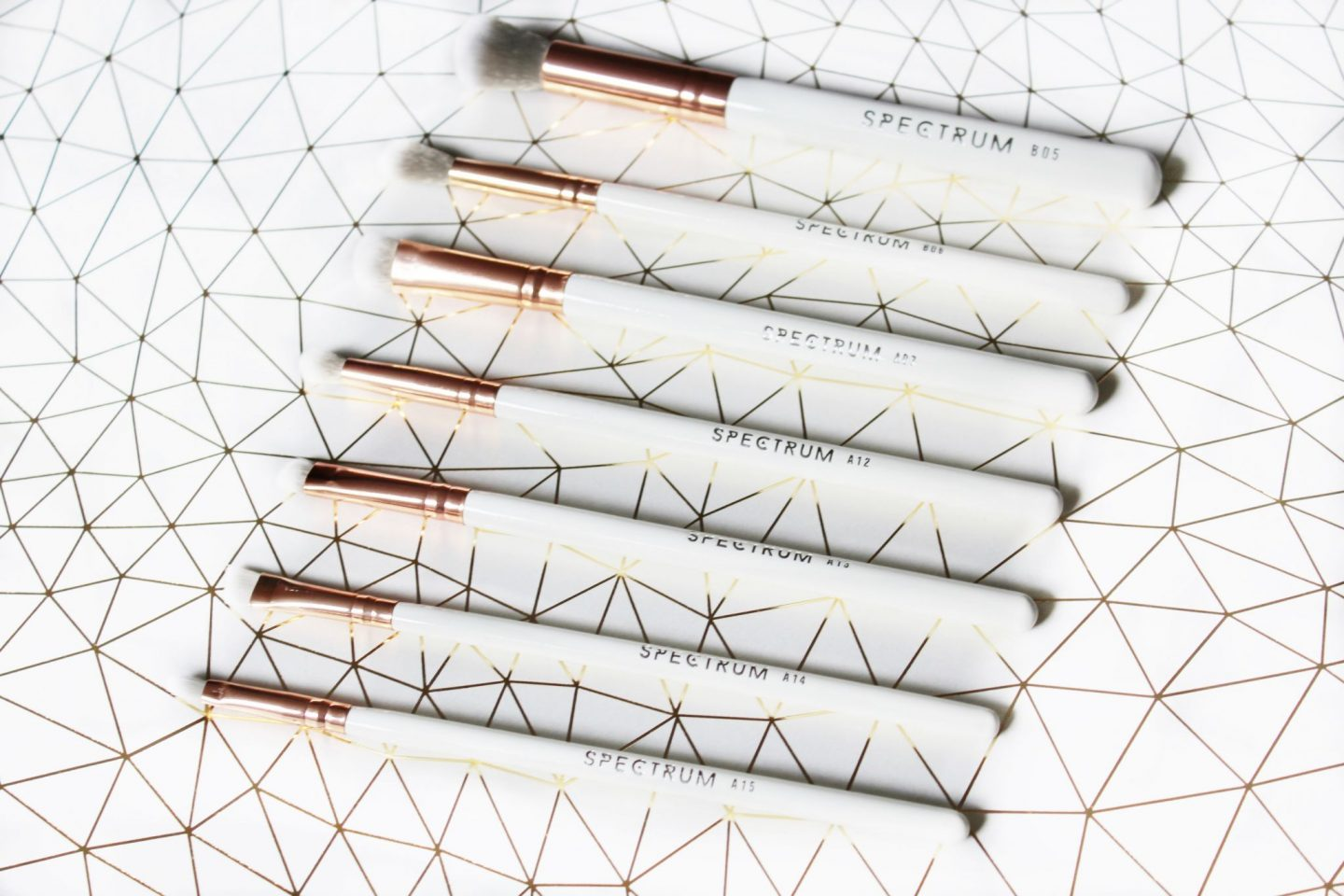 Spectrum Brushes Marbleous Eye, Brow and Lip Brushes