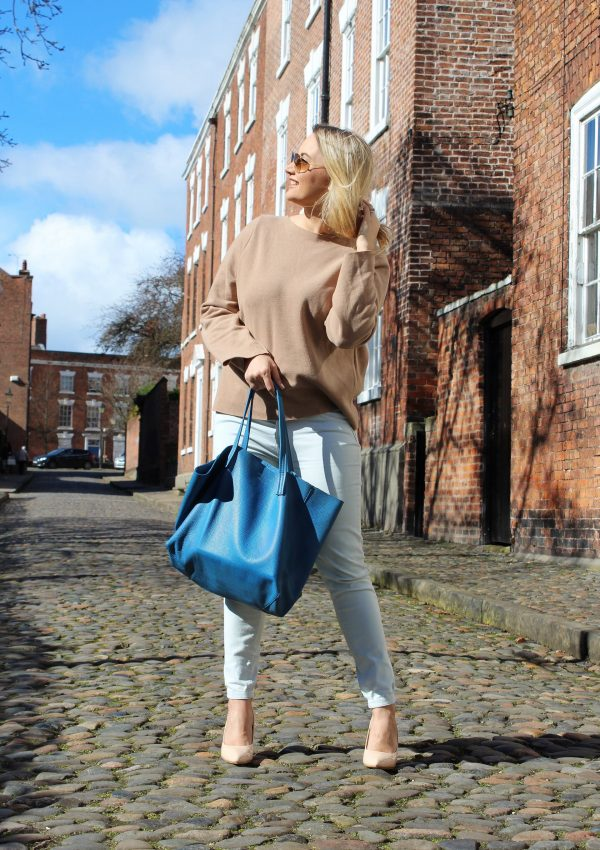 How to stay positive - Kurt Geiger tote