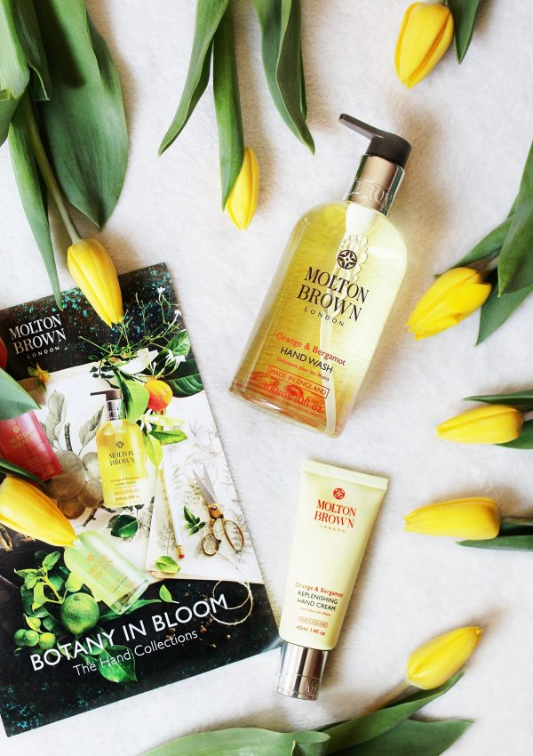 How To Brighten Up Someone's Day Ft. Molton Brown The Orange & Bergamot Hand Collection