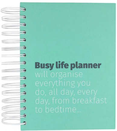 Busy life day per page planner now £12