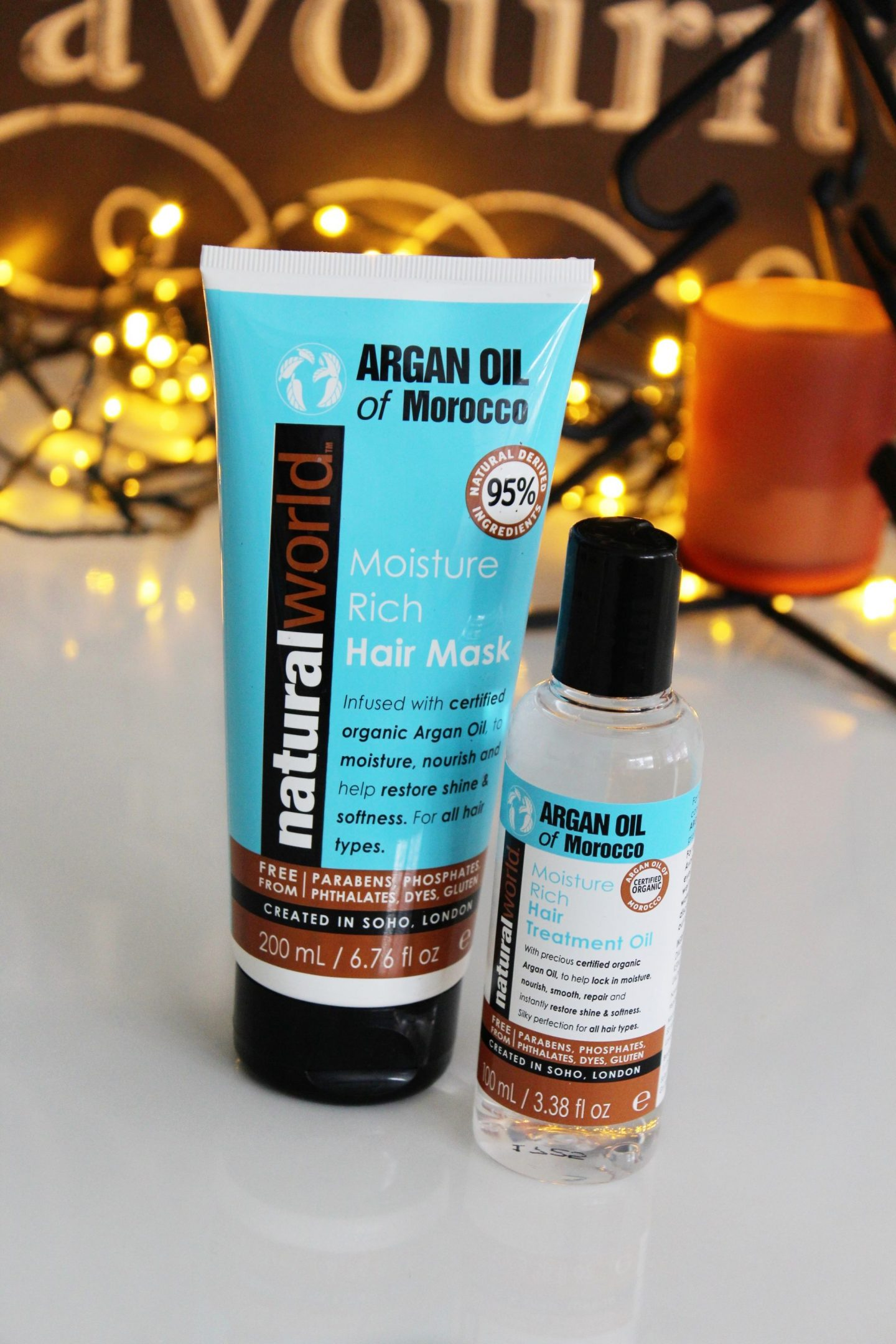 Argan Oil of Morocco hair mask and treatment oil