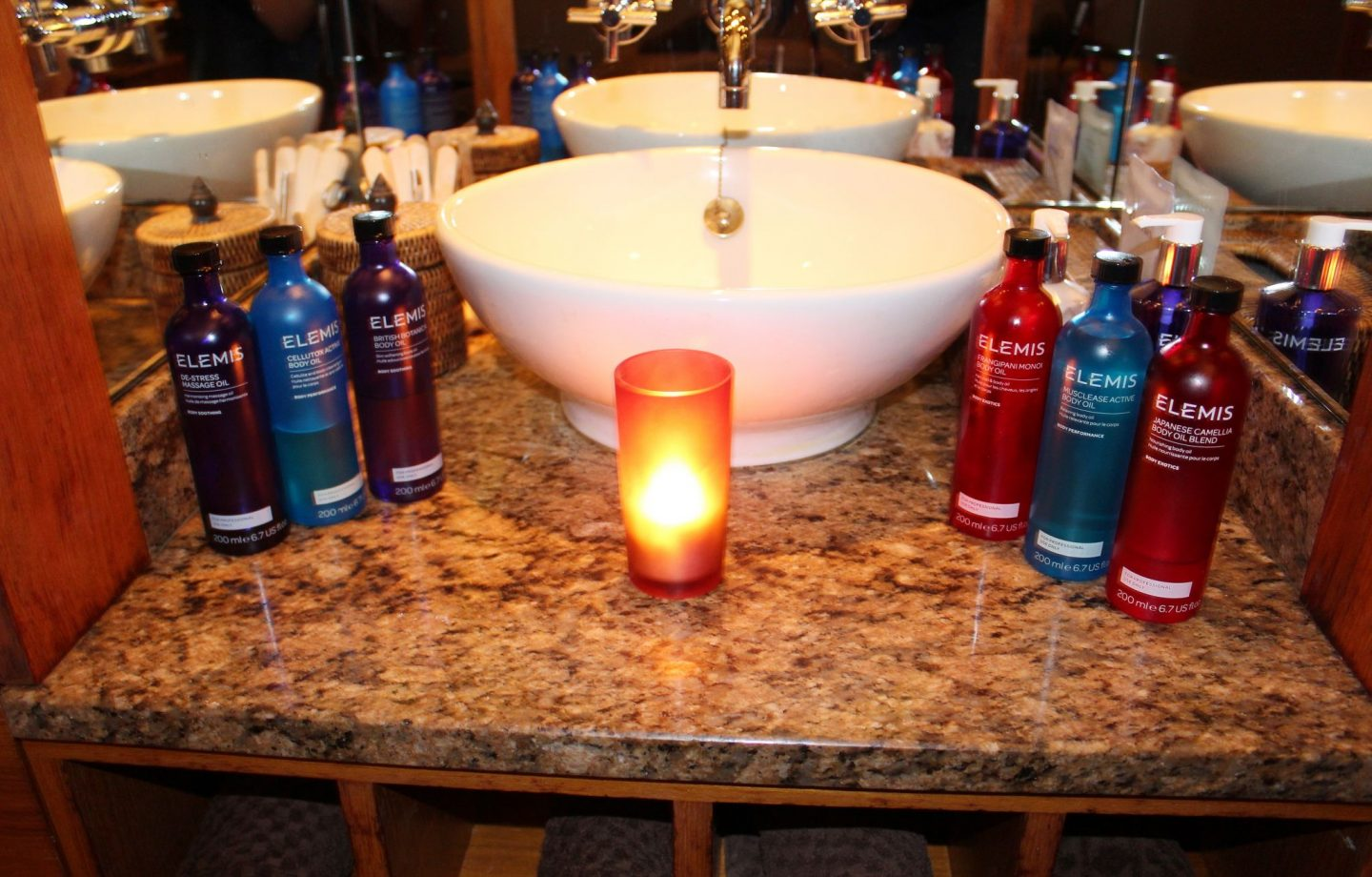 Elemis Massage Treatment Oils, The Chester Grosvenor Spa - Miel and Mint review