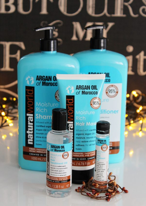 Natural World Argan Oil of Morocco Moisture Rich range review