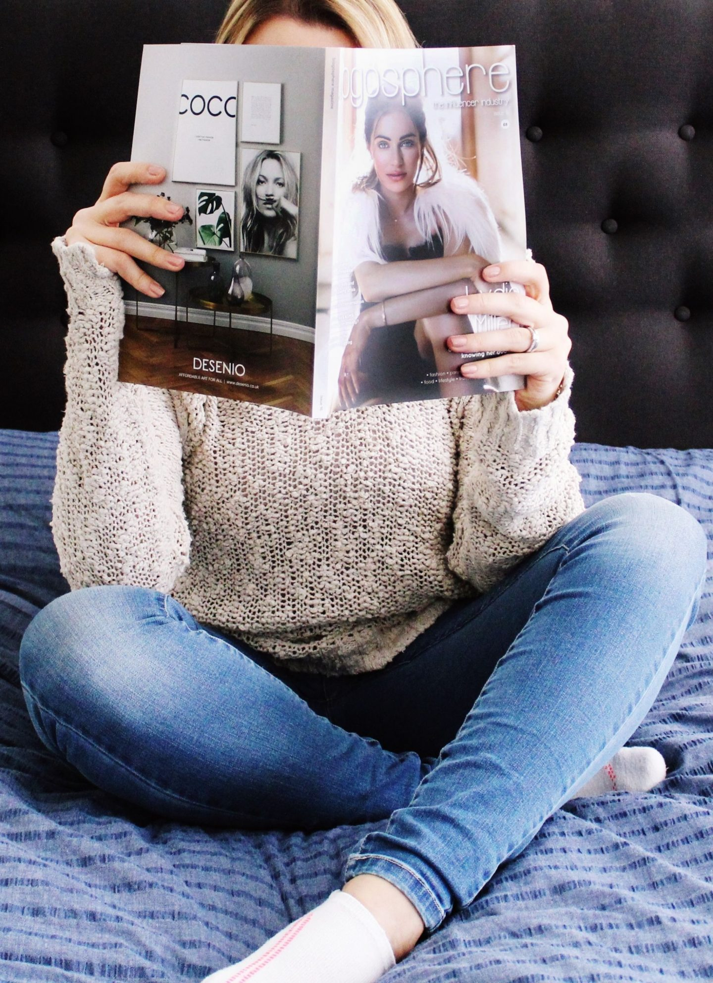 Blogosphere Magazine - Advice for new bloggers - Miel and Mint blog