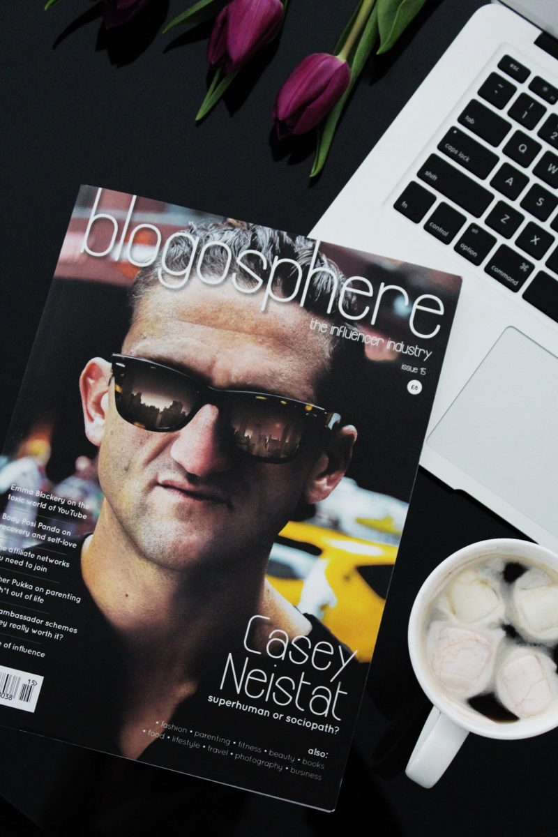 Blogosphere Magazine Cover - Miel and Mint
