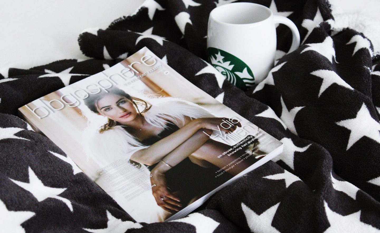 Blogosphere Magazine, Lydia Elise Millen, Blogging Tips for new bloggers - Miel and Mint