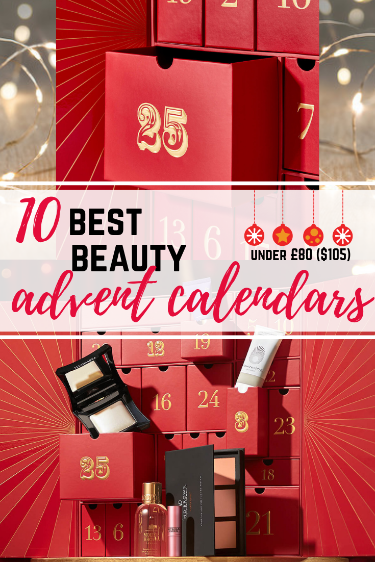 10 Best Beauty Advent Calendars 2018 Miel and Mint blog