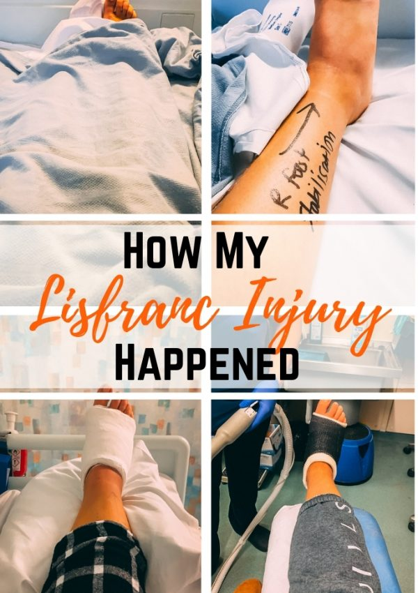 How My Lisfranc Injury Happened